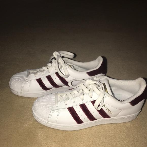 a8af1773d7cc adidas Shoes - Adidas Red Velvet Superstars
